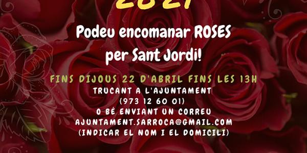 ROSES PER SANT JORDI!